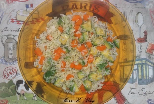 salade avocat carotte riz K